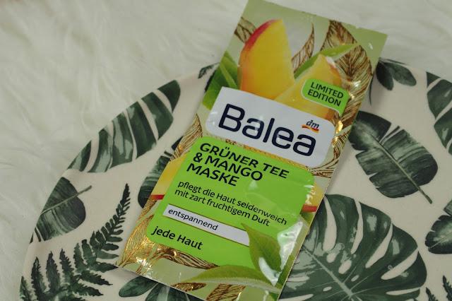 Review: Balea Grüner Tee Mango Maske