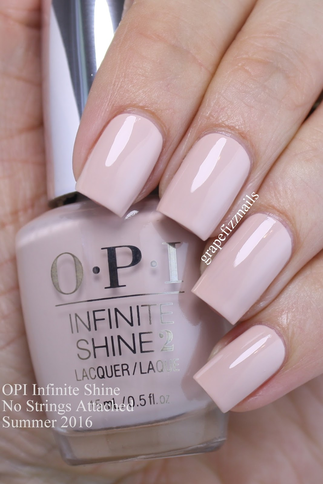 Grape Fizz Nails Opi Infinite Shine The Nuances Of Neutral Summer 2016