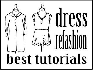 http://www.roued.com/the-best-dress-refashion-tutorials/