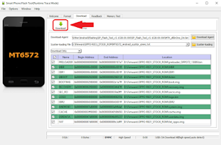 Cara Flash Lenovo A816 via Flashtool