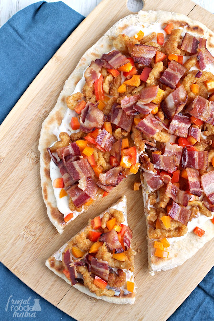 Inspired by a classic coastal appetizer, this tasty Clams Casino Grilled Pizza will quickly become your new go-to for backyard cookouts.