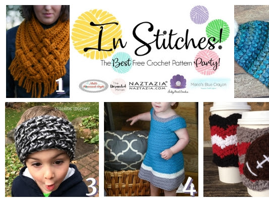 Best Free Crochet Pattern In Stitches Link Up Party Week #23