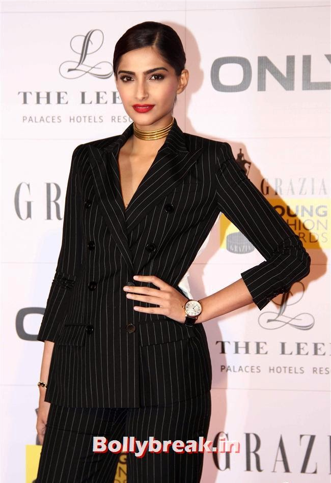 Sonam Kapoor, Hottest Celebs of Bollywood at Grazia Young Fashion Awards 2014