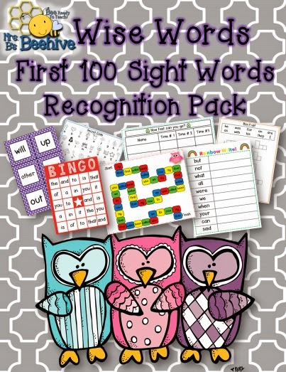 https://www.teacherspayteachers.com/Product/Wise-Words-First-100-Sight-Words-Recognition-Program-1215771
