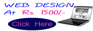 low cost web design at Rs. 1500/-
