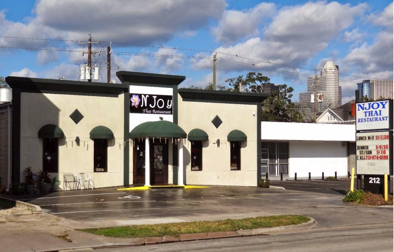Njoy Thai Restaurant and Bar 212 Westheimer Road, Houston, TX 77006