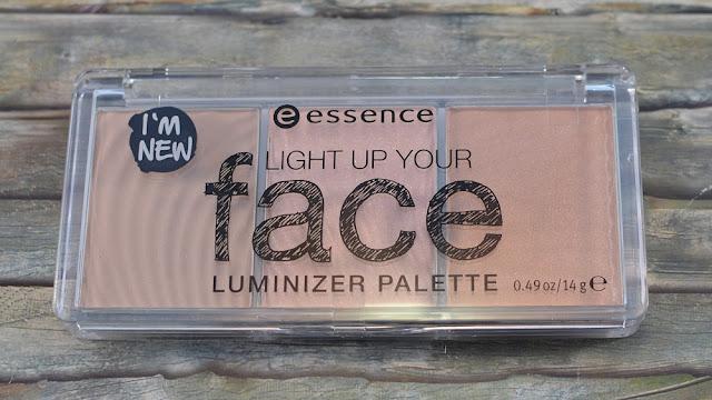 Essence light up your face luminizer Palette 10 ready set glow