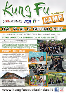 KUNG FU CAMP 2018