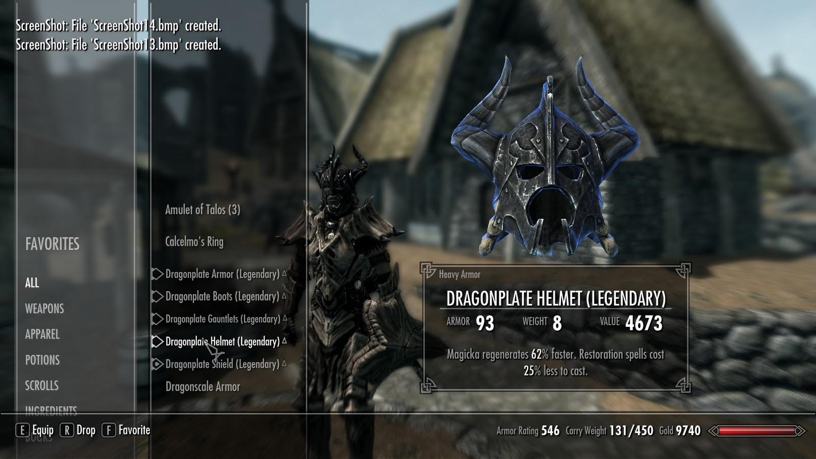 Free Crafting Skyrim