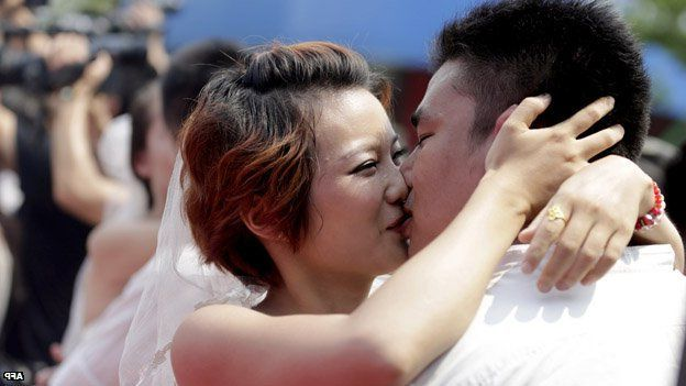 Not everybody in China can bring a partner along to family get-togethers.
