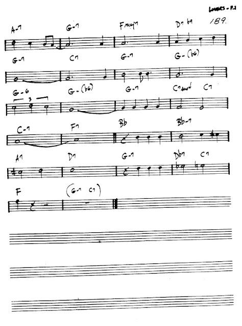 Flauta Hello, Young Lovers