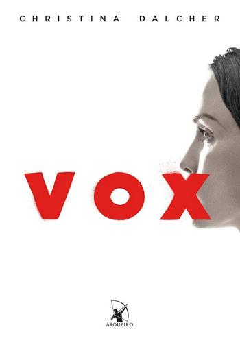 VOX de Christina Dalcher | Editora Arqueiro