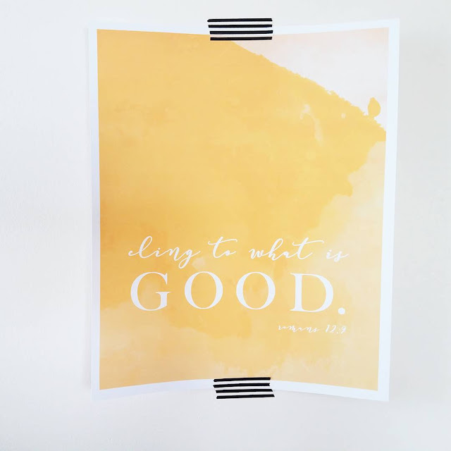 Practical everyday ways to overcome anxiety, refocus on God's truth, and find courage for today by clinging to what is good.