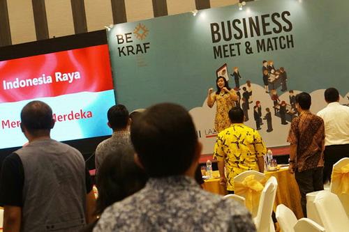 Business Meet & Match Bekraf with Hari 'Soul' Putra