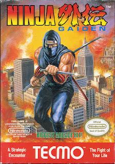 Portada videojuego Ninja Gaiden