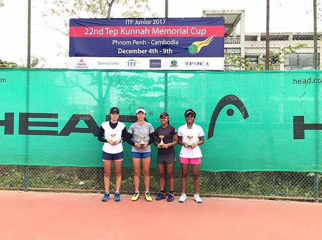 Putri Sanjungan Insani Dan Samantha Nanere Sabet Gelar Juara ITF Cambodia G5