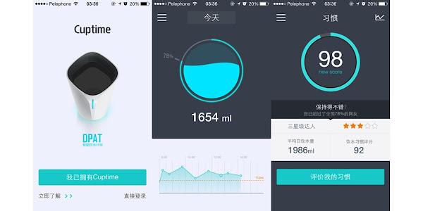 數位時代翻攝自 iOS 版本的 Cuptime App