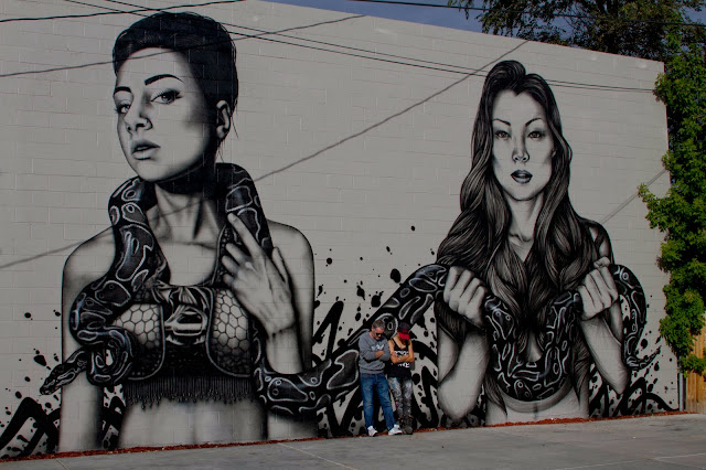 Street Art By Fin DAC and Angelina Christina On The Streets Of Denver, USA. 1