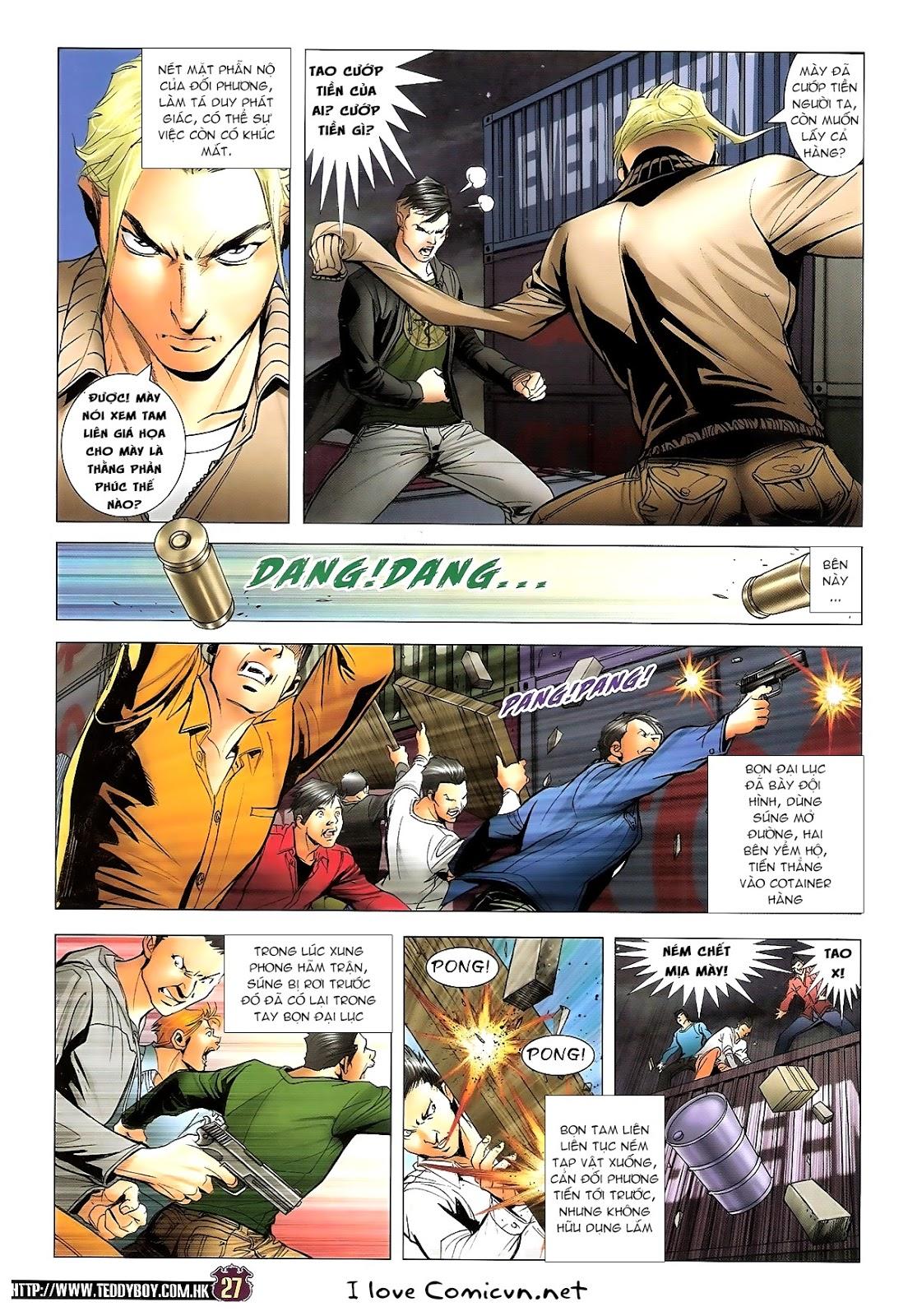 Người Trong Giang Hồ chapter 1673: tắm máu lưu phù sơn trang 22