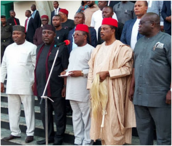 Igbo Quit Notice: Press Release By South East Governors Forum