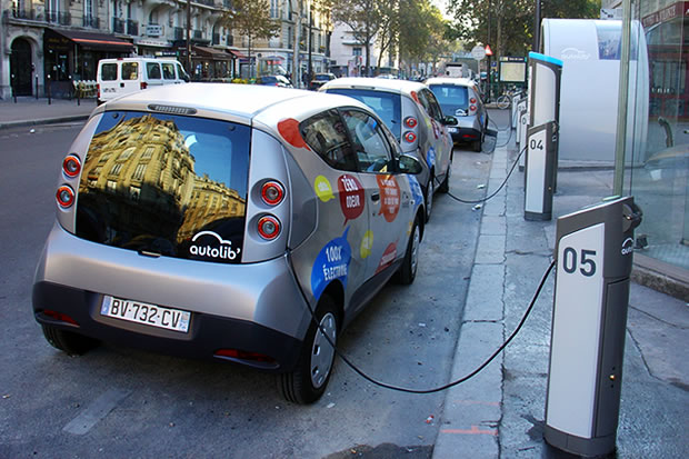 Autolib en Francia