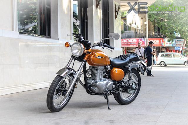 Kawasaki Estrella 250 có giá bán 248 triệu đồng