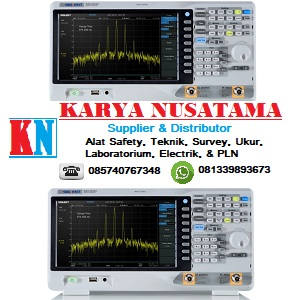 Jual Siglent SSA3021X Spectrum analyzer Terbaru di Jakarta