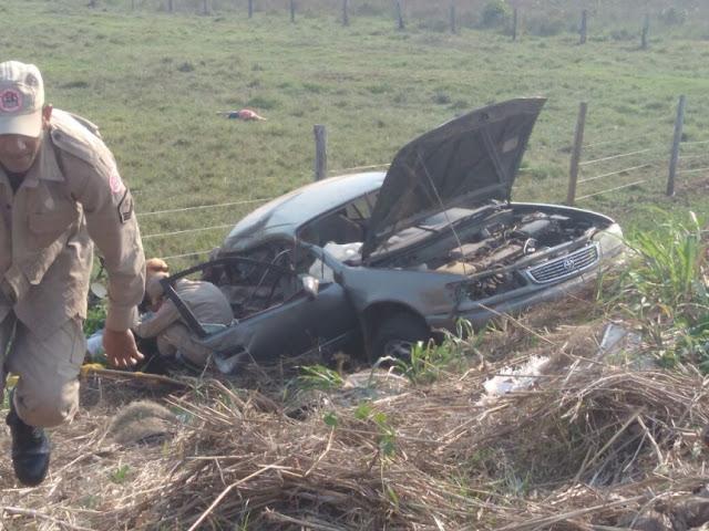 Grave acidente de trânsito na saída de Pimenta Bueno para Rolim de Moura deixa vários mortos