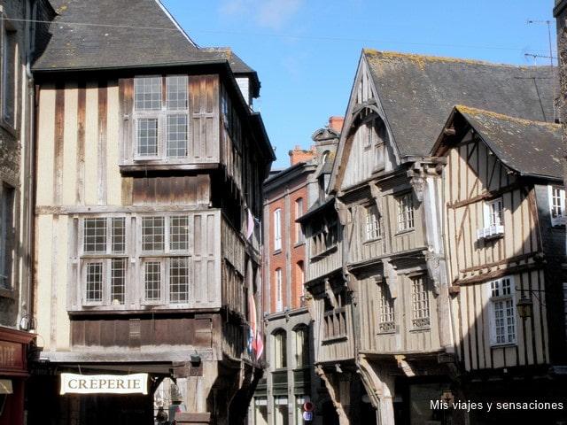 Pueblo medieval de Dinan, Bretaña Francesa