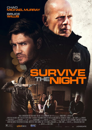 Survive The Night 2020 HDRip 720p Dual Audio In Hindi English
