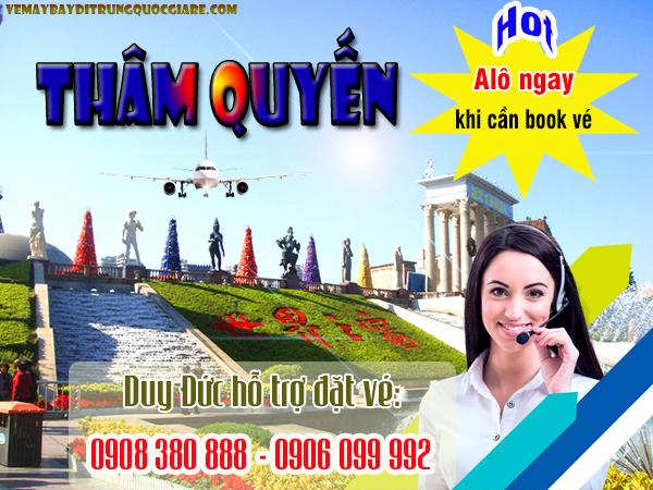 Vé máy bay TPHCM đi Thâm Quyến Trung Quốc