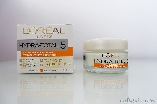 l'oreal, l'oreal paris, l'oreal paris hydra total 5 ultra even skincare, influenster