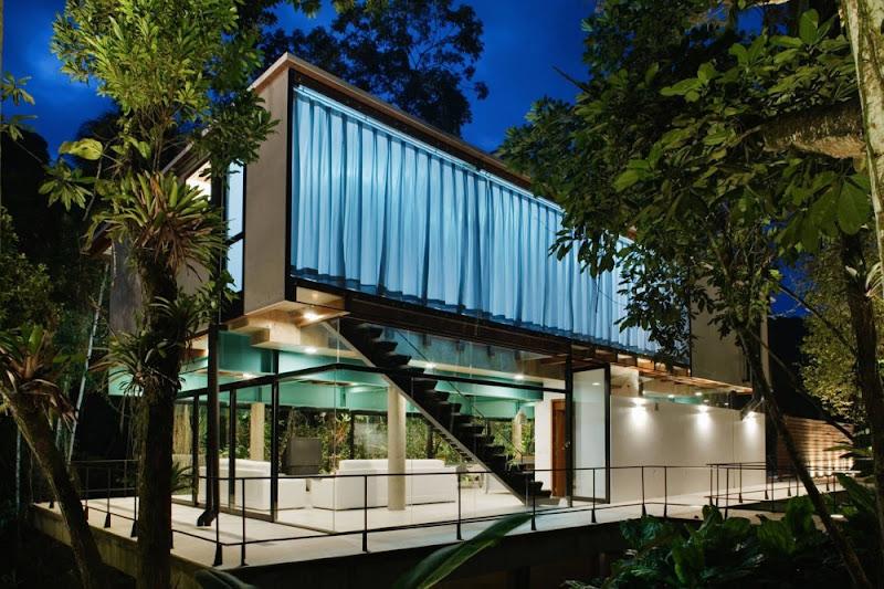 Casa en Iporanga - Nitsche Arquitetos Associados