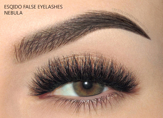Esqido False Lashes Noire Collection Nebula
