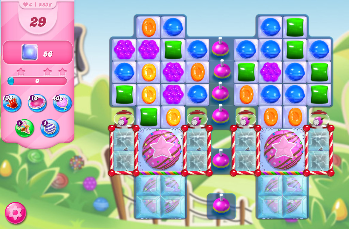 Candy Crush Saga level 5536