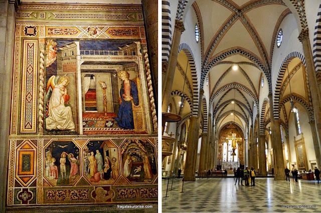 Florença - Basílica de Santa Maria Novella