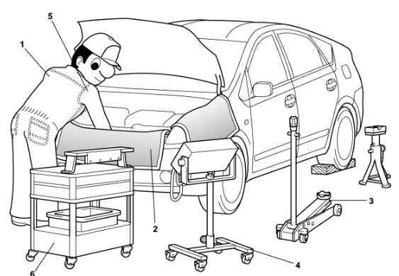 2004 Toyota Prius Repair Manual