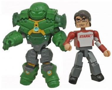 Walgreens Exclusive Marvel Animated Universe Minimates Series 5 - Hulkbuster Armor Bruce Banner