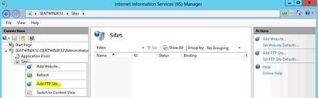 Ftp Server Online