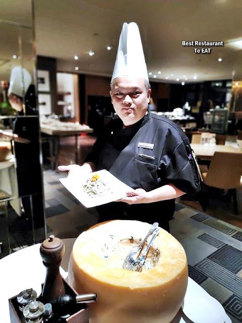 The Club @ G Tower Hotel Kuala Lumpur Jalan Tun Razak Chef Richard Teh