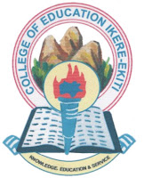 COE, Ikere-Ekiti 2017/2018 NCE 1st Batch Admission List Out