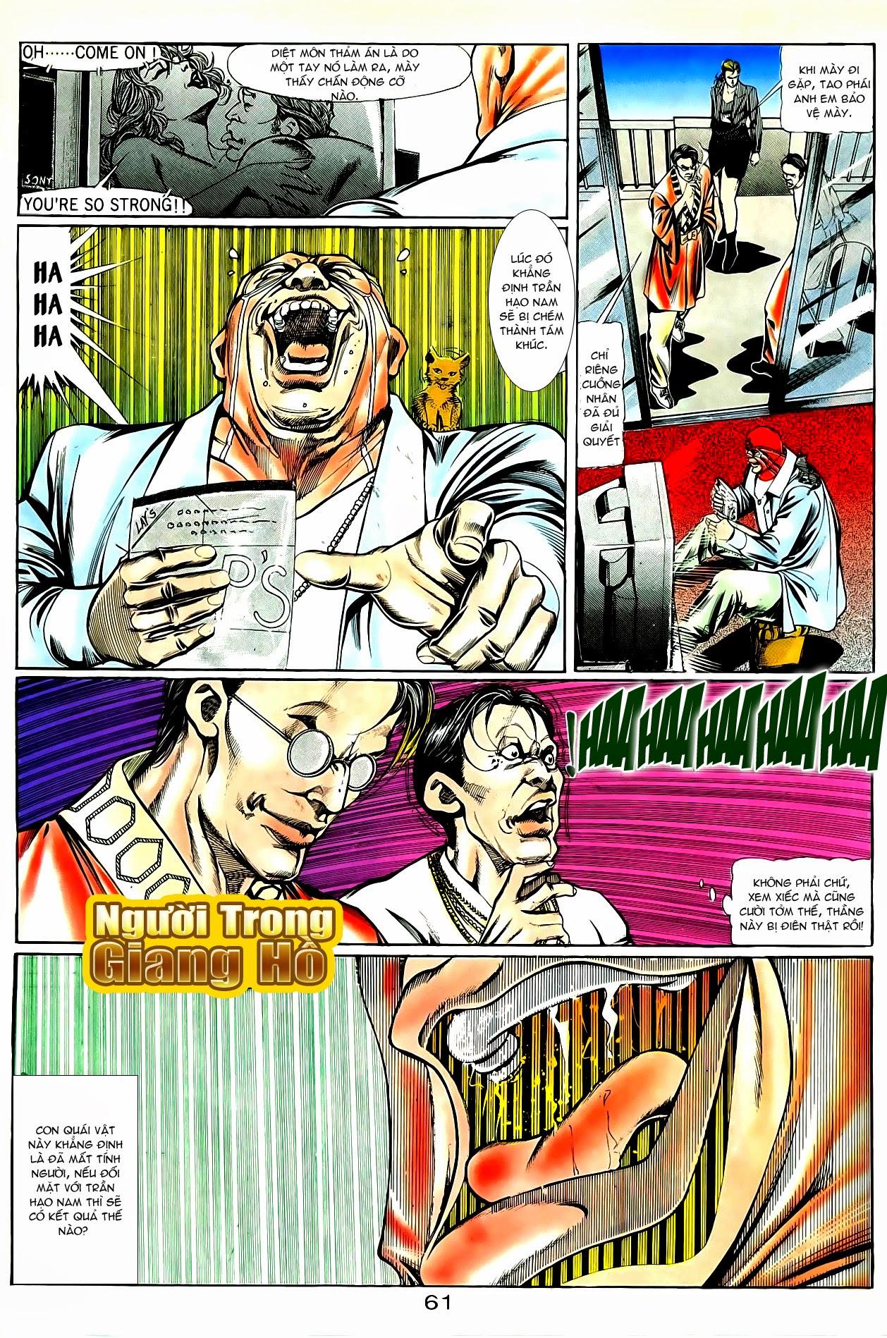 Người Trong Giang Hồ chapter 86: săn báo trang 4