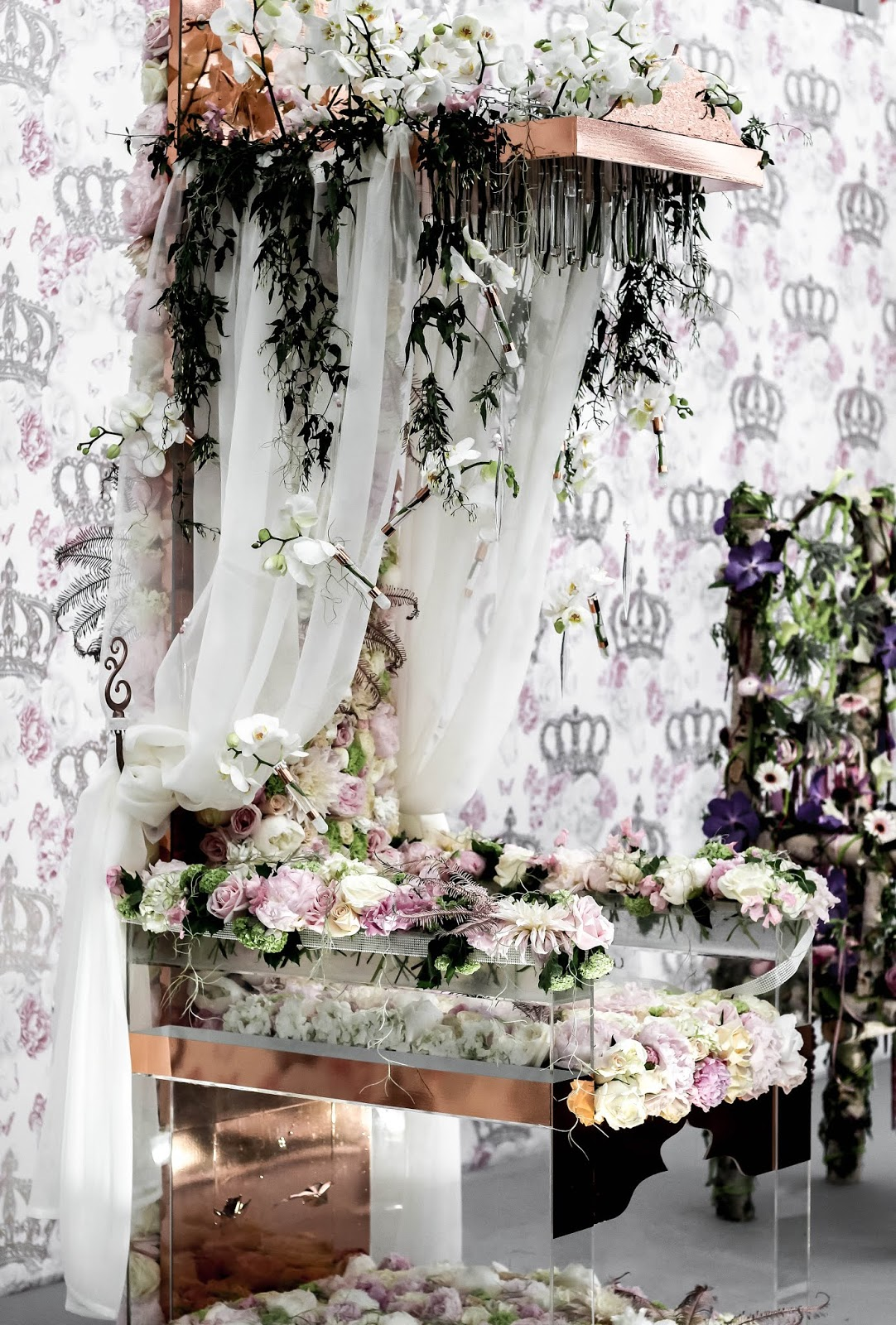 Thrones Young Florist Competition Chelsea Flower Show 2018