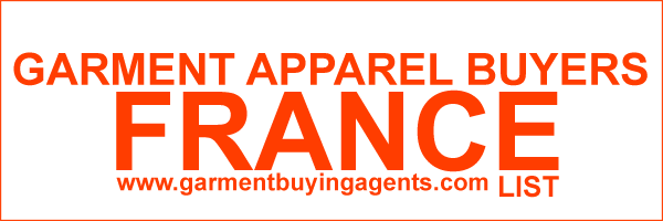 Apparel Buyers and Garment Buying Agents in in FRANCE | Garment