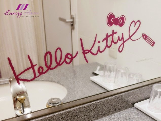 Great keio plaza hotel tokyo hello kitty wall decals