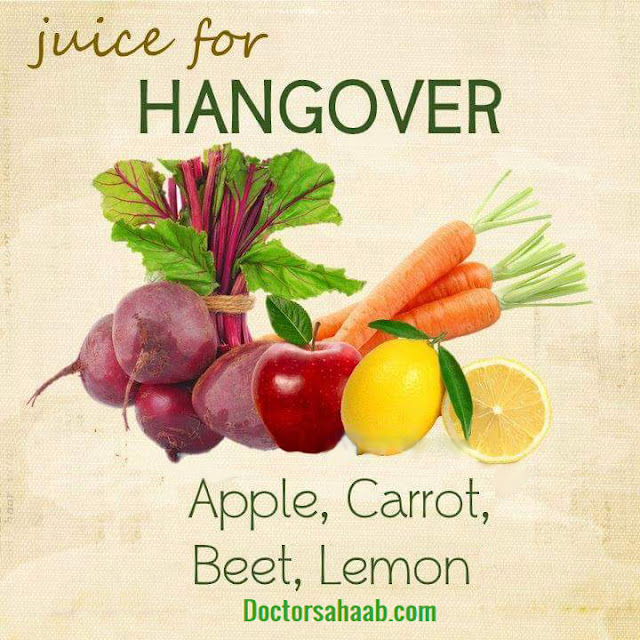 Juice for Hangover (Apple+Carrot+Beet+Lemon)