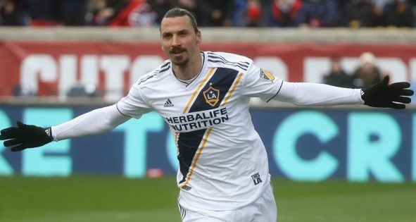 Ibrahimovich: LA Galaxy player score his first Major League Soccer hat-trick