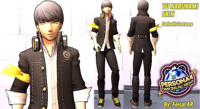 yu narukami protagonist main gta sa skin persona dancing