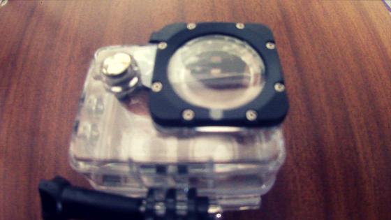 مراجعة ارخص كاميرا رياضية احترافية V3 4K WiFi