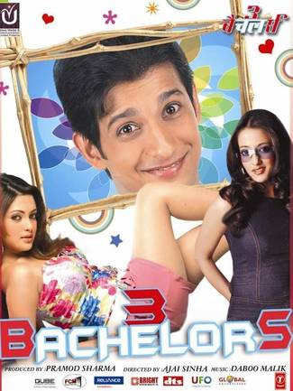 3 Bachelors 2012 Hindi 480p HDRip 300mb